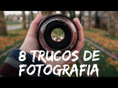 8 TRUCOS de FOTOGRAFÍA en 2 MINUTOS