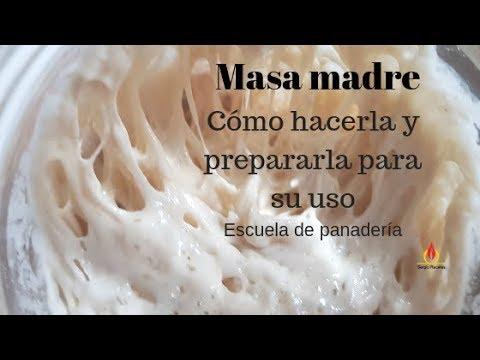 Cómo hacer masa madre natural en 7 días/ Escuela de panadería #masamadre #cómohacermasamadre