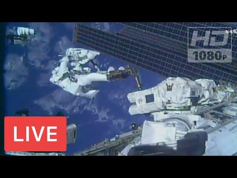 MIRAR NASA: Astronauta Spacewalk #RealTimeTracker NASA FEED | Cámaras 24/7 de Earth Viewing