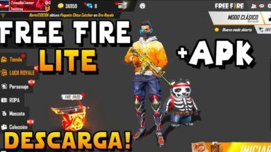 👉¡Como Descargar Nuevo Free Fire LITE! NUEVA APK ¡CELULARES DE GAMA BAJA!
