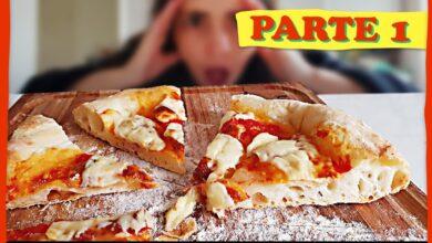 Pizza italiana SIN AMASADO: la mejor masa de pizza – Cómo hacer Pizza E07 parte 1