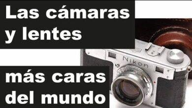 Las 10 cámaras y lentes fotográficas más caras del mundo