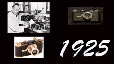 La cámara fotografica a través del tiempo