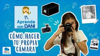Como hacer tu cámara de fotos. Aprende con Dani.