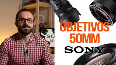 Objetivos de 50mm para cámaras Sony
