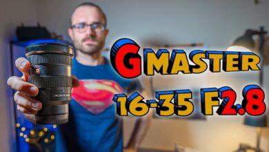 Sony G Master 16-35 f2.8 📸 EL MEJOR Objetivo para Cámaras Sony Alpha