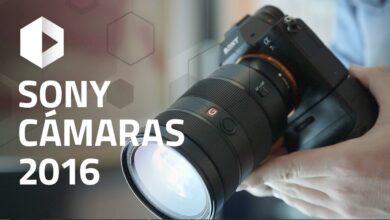 Objetivos G Master, Full Frame y A6300. Sony cámaras gama 2016