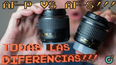 NIKON: Diferencias entre los AF-P vs AF-S (18-55mm)