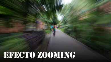 Efecto Zooming   Serie fototrucos #1