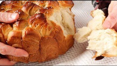 Pan casero muy esponjoso y fácil de hacer – Receta de pan volandero