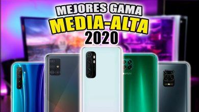 LOS MEJORES CELULARES GAMA MEDIA ALTA 2020 🔥 ($250)