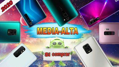 Los 7 Mejores Celulares GAMA MEDIA ALTA Que puedes comprar en 2020