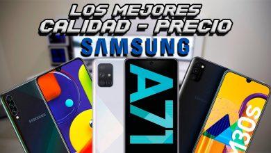 LOS MEJORES GAMA MEDIA DE SAMSUNG (CALIDAD-PRECIO)