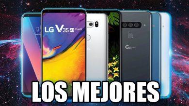 6 MEJORES celulares de GAMA ALTA de LG que valen la pena   Calidad / Precio ⭐️