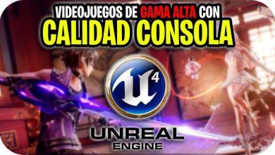 Juegos con Unreal Engine 4 para Android Gama Alta Graficos SUPER HD