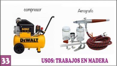 COMPRESOR DE AIRE o Aerógrafo para Manualidades y Trabajos en Madera 🏁