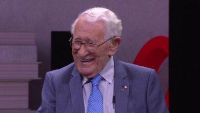 El hombre más feliz del mundo: sobreviviente del Holocausto de 99 años comparte su historia | Eddie Jaku | TEDxSydney
