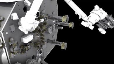 Reabasteciendo satélites en órbita