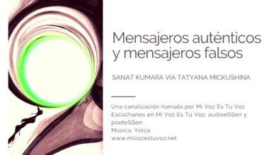 MENSAJEROS AUTÉNTICOS Y MENSAJEROS FALSOS – Sanat Kumara | Canalización