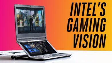 Exclusivo: el nuevo concepto de Intel para portátiles para juegos
