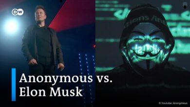 Anonymous encara a Elon Musk